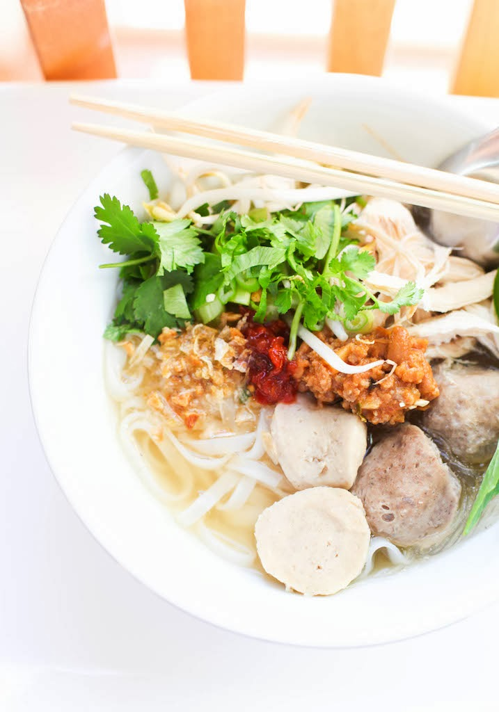 Turkey Neck Pho Noodle Soup | Photography via Chandara Creative