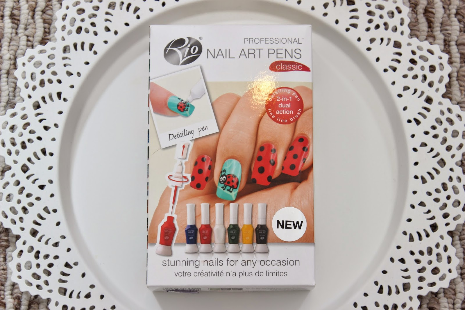 Rio Nail Art Pens Review Giveaway British Beauty Addict
