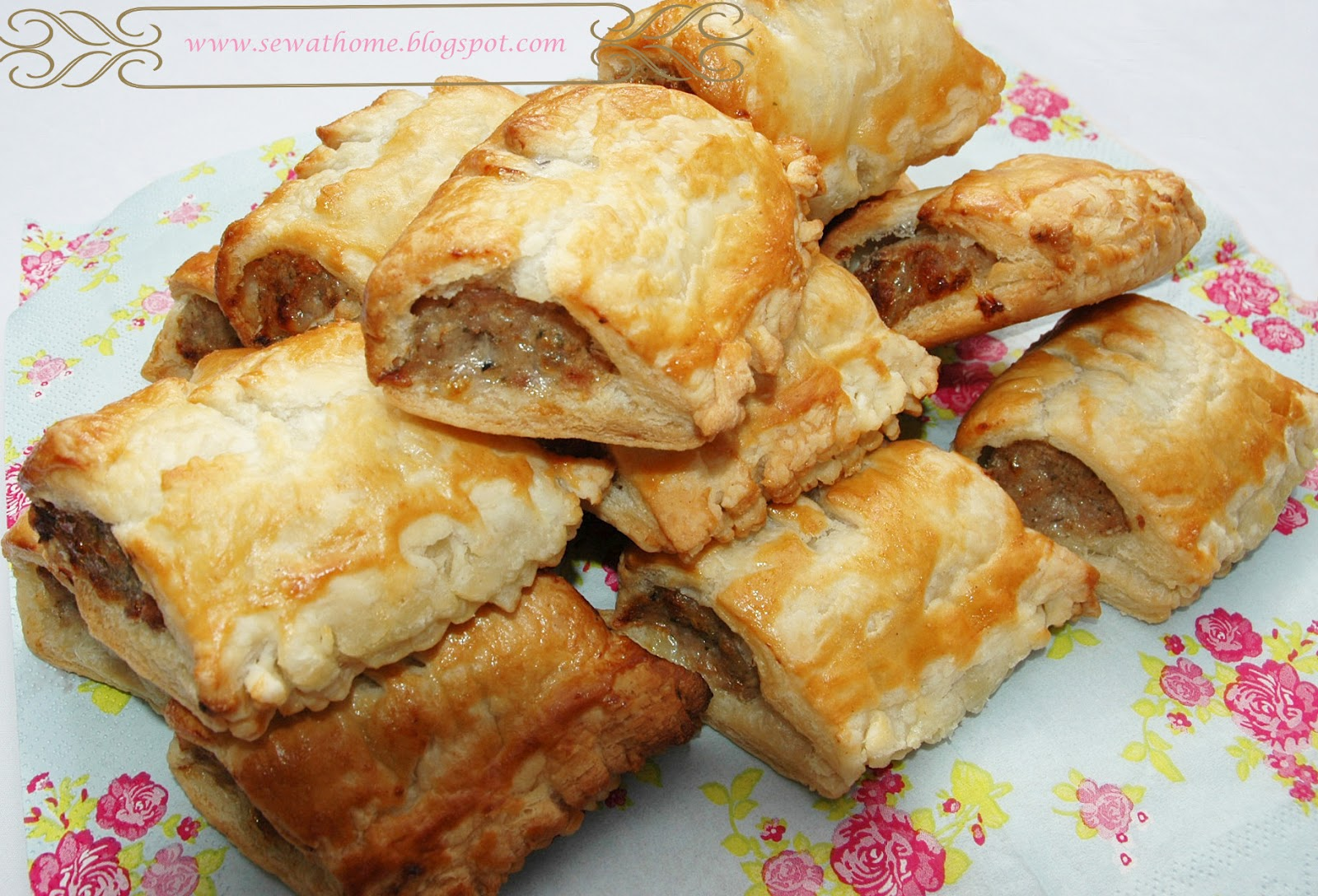 At home with My Golden Pear: Homemade Sausage Rolls