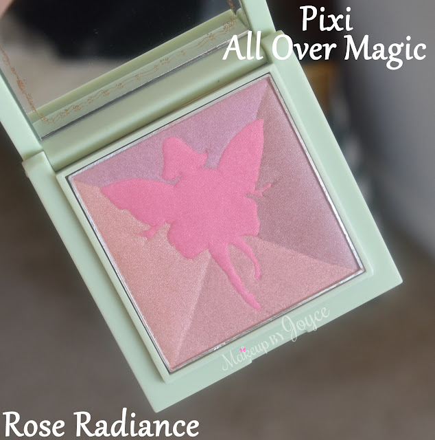 Pixi All Over Magic Rose Radiance Blush Review