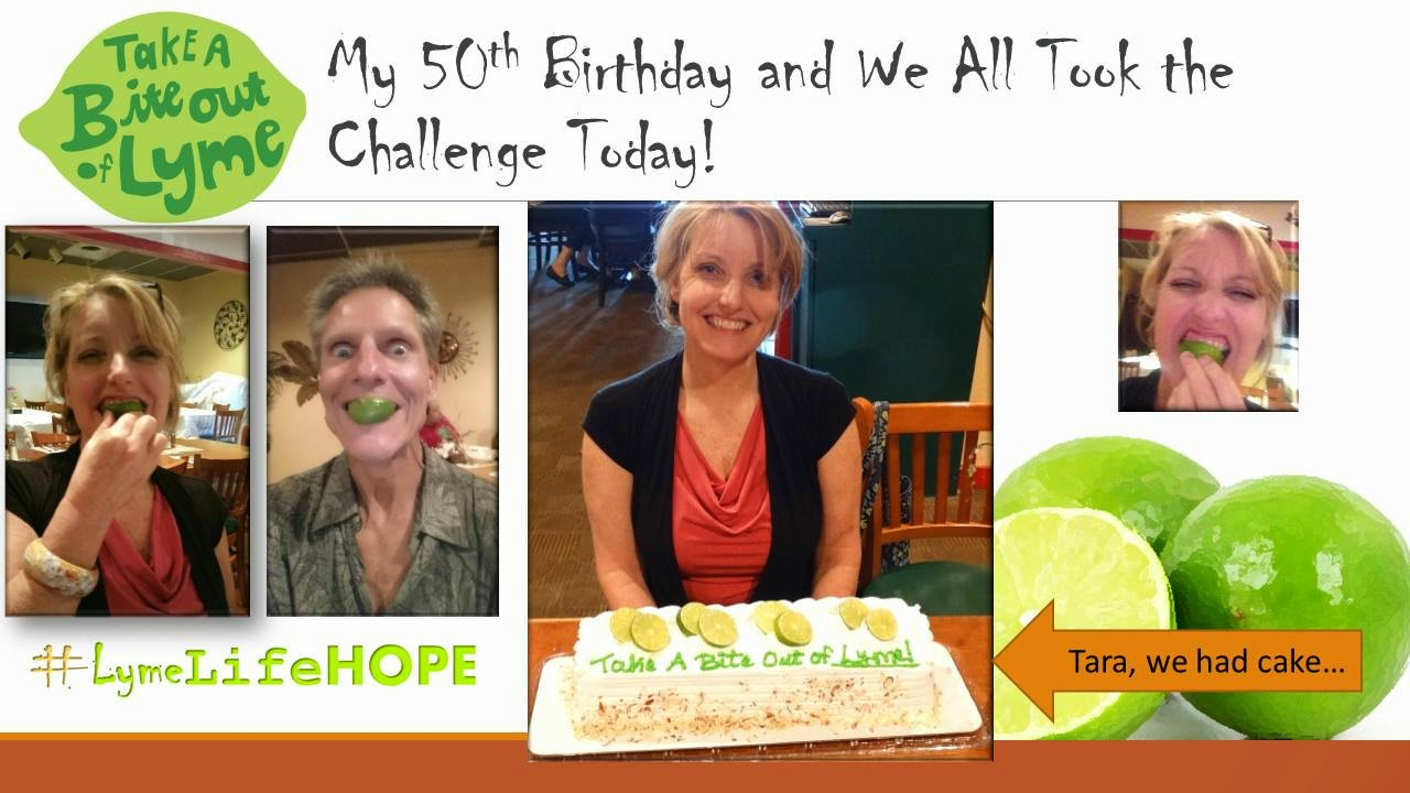 TAKE THE LYME DISEASE CHALLENGE