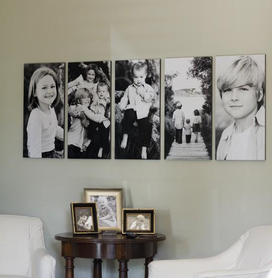 Свежие идеи: куда повесить свои семейные фото Домохозяйка-всезнайка. Горячие новости, вкусные истории
