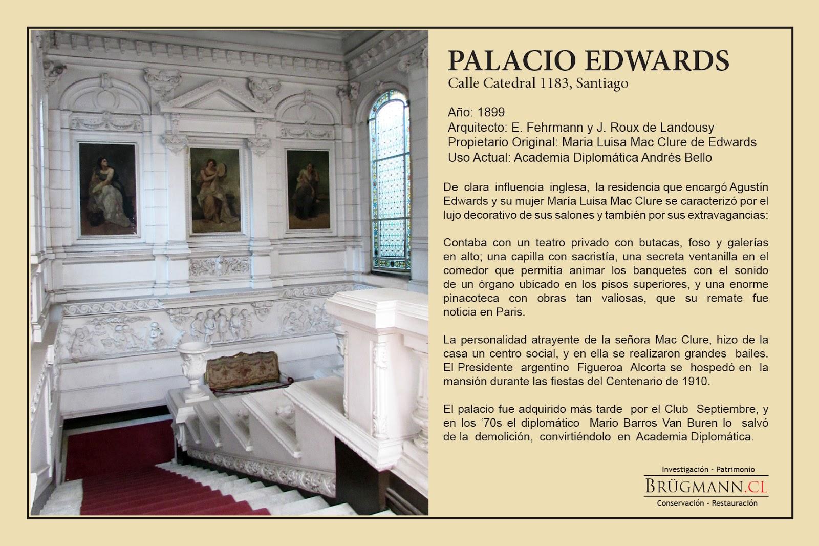 Brugmann- Conservación y Restauración de objetos de arte: PALACIOS