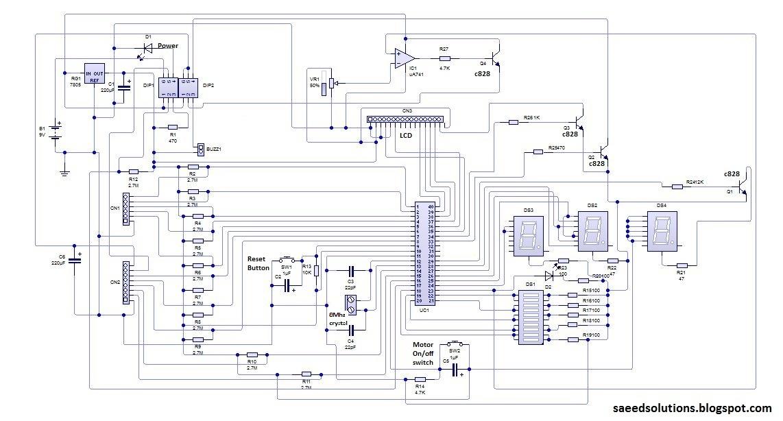 Water Level Indicator using ATMEGA16 microcontroller Saeeds Blog