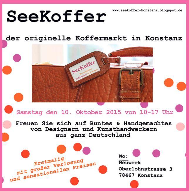Seekoffer, Koffermarkt, handmade, künstlermarkt, Kunsthandwerkermarkt, diy, designer, Konstanz, Bodensee,
