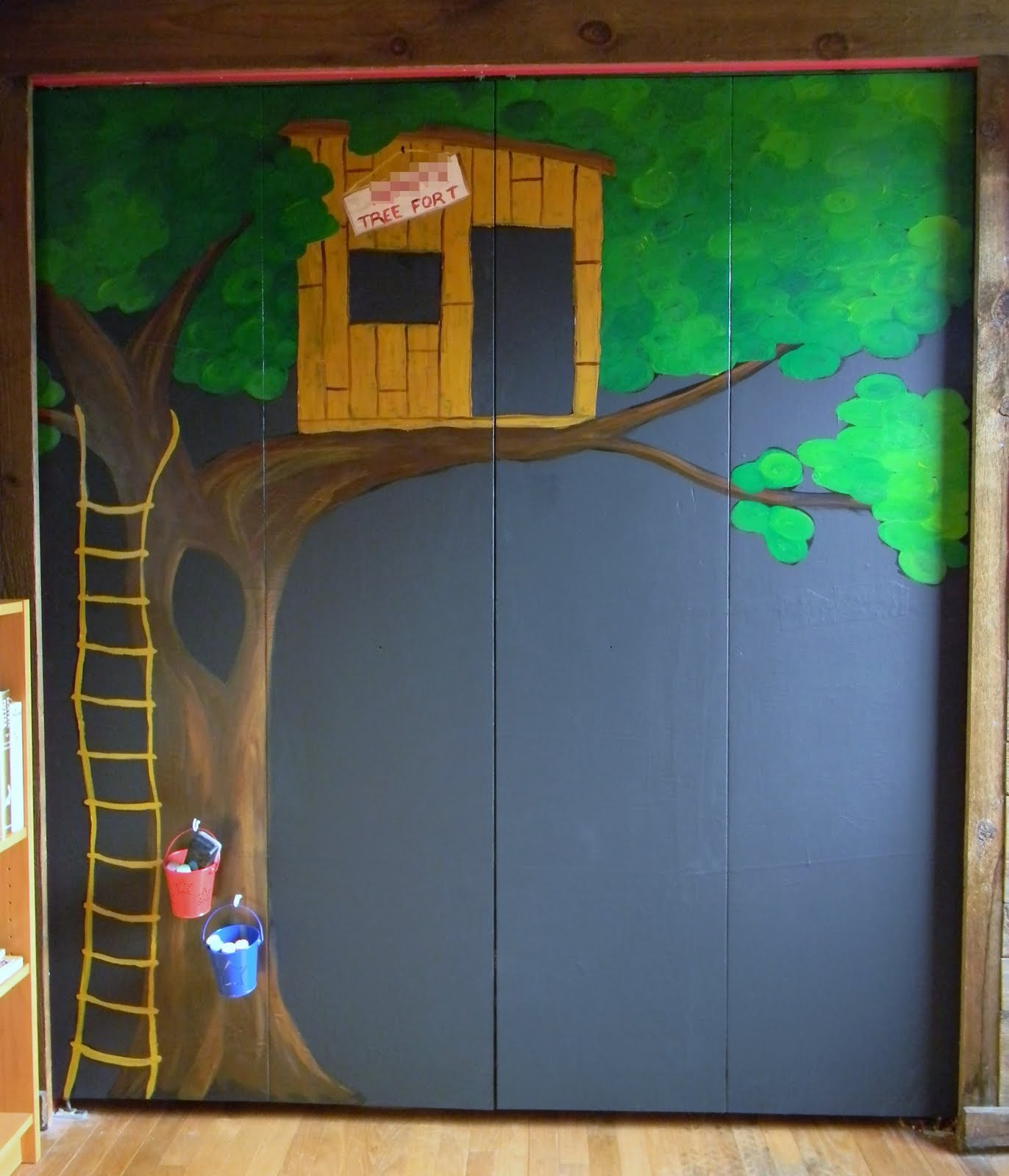 Craftopotamus Chalkboard Closet Doors For My Son
