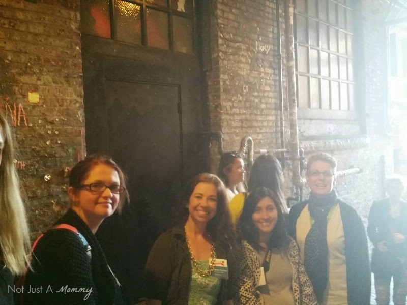 How To Survive Your First Blogging Conference; Gum Wall