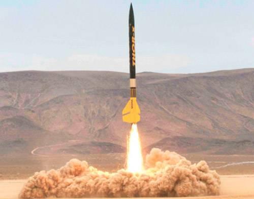 Ракета  на карамельном топливе
