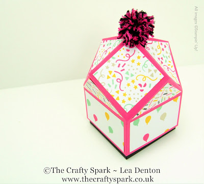 stampin up uk its my party multifaceted box