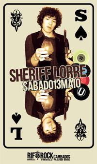 13 maio: SHERIFF LORRE