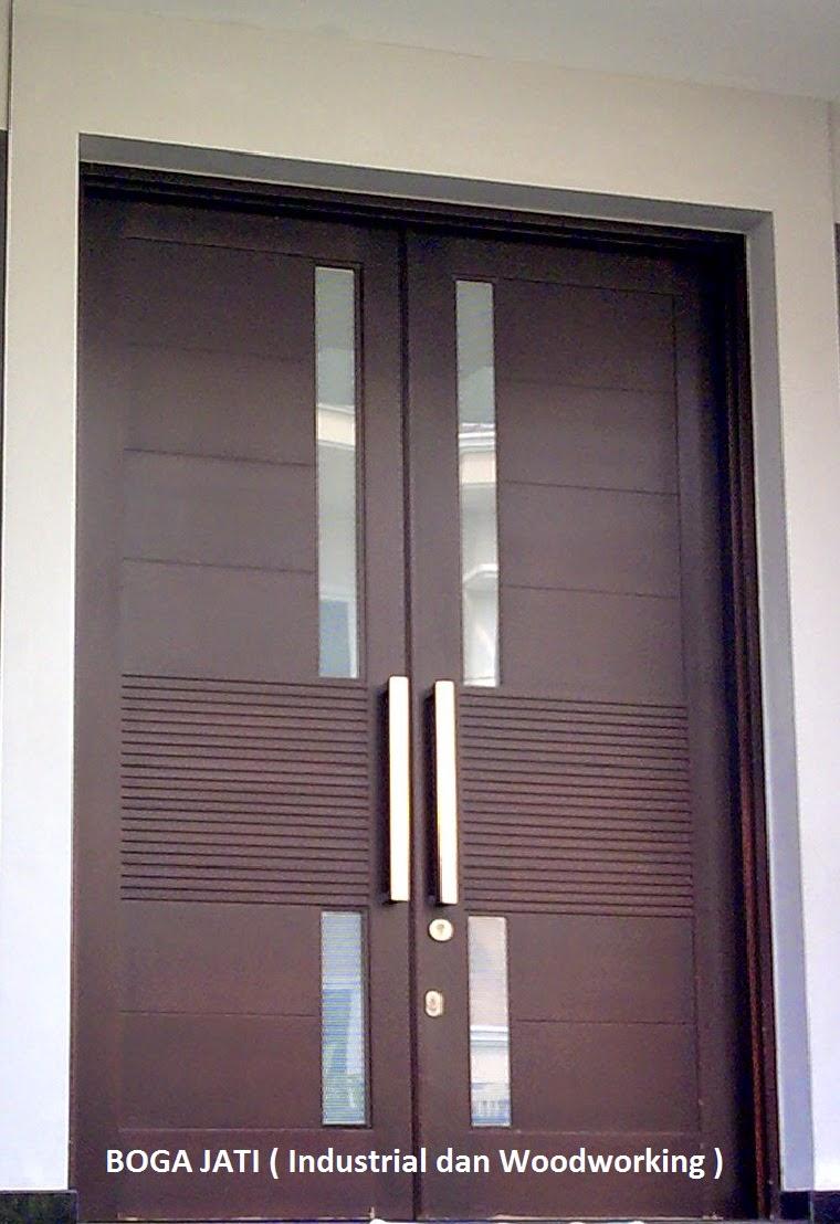 Motif-Motif Pintu Panel Utama dan Pintu Kamar :