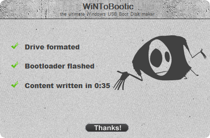 steps to make usb flash drive bootable with wintobootic | Flash427