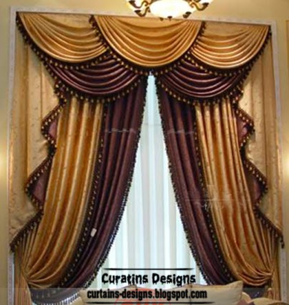 top luxury drapes curtain designs unique drapery styles ideas colors