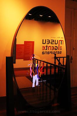 Espelho do Nossos Trajes, no Museu da Gente Sergipana, em Aracaju - Sergipe
