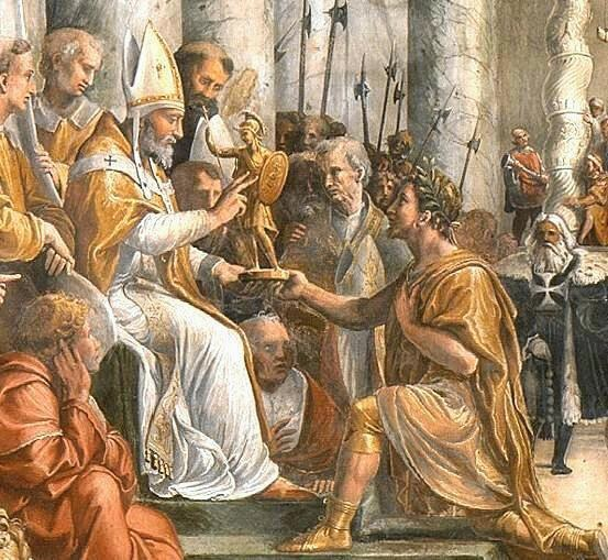 Constantine roman emperor father of Cristianity