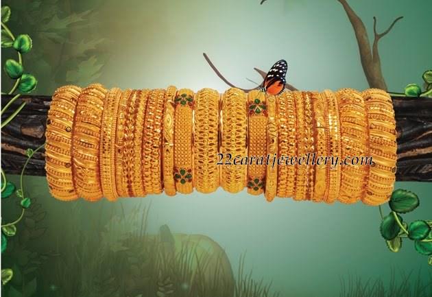 Gold Bangles Mela Jewellery Designs
