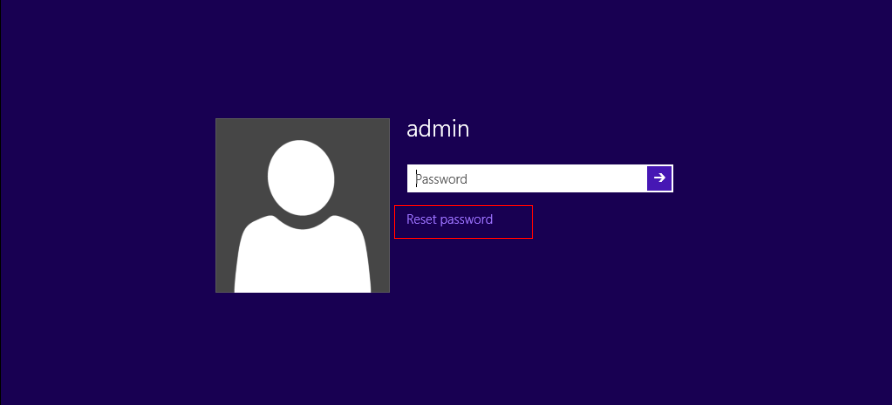 забравена парола за влизане в Windows 8