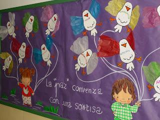 La revista del miguel hern ndez murales del 2 ciclo - Murales decorativos de navidad ...