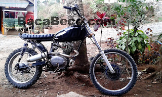 CB 100 Trail Bratstyle Modifikasi