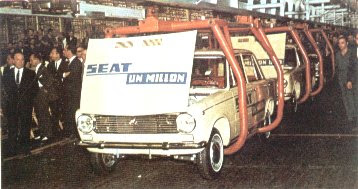 Seat 124 un Millon