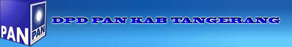 DPD PAN KABUPATEN TANGERANG