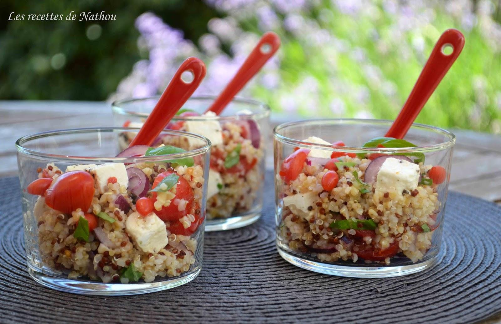 salade de quinoa et boulgour aux baies de goji feta oignon rouge et citron blogs de cuisine. Black Bedroom Furniture Sets. Home Design Ideas
