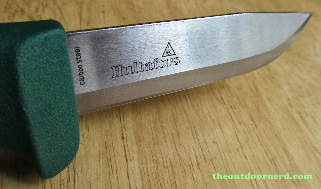 Hultafors Craftmans Knife Heavy-Duty GK: Another View Of Blade