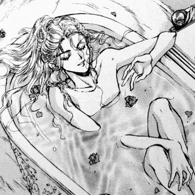 Rosiel nella vasca da bagno. Sbav! *ç*