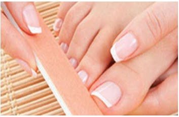 steps for easy and quick pedicure process at home  simple