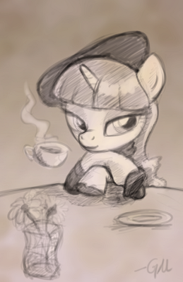 Beatnik Rarity is best pony.