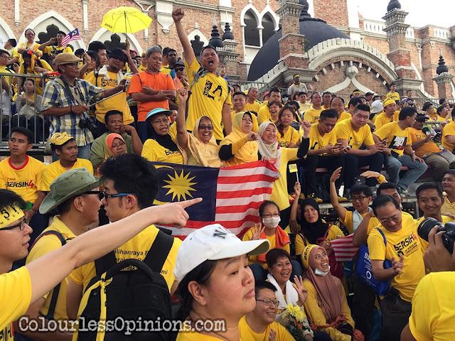 Bersih 4 melayu malays Jalan Raja