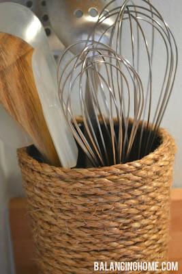 งานประดิษฐ์ของใช้ในบ้าน –ที่ใส่ของจากเชือก 4