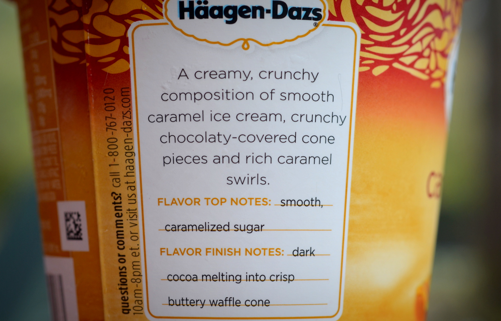 Food And Ice Cream Recipes Review Haagen Dazs Caramel Cone 220 calories, nutrition grade (c), problematic ingredients, and more. food and ice cream recipes blogger