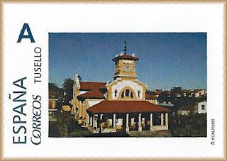 Sello personalizado de la parroquia de Salinas