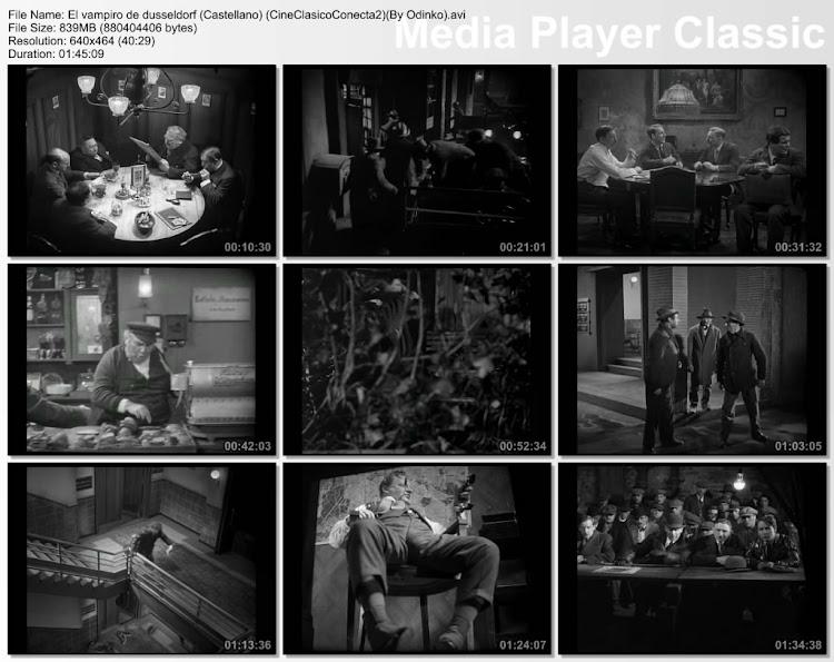 el vampiro de Dusseldorf | 1931 | M | Capturas de pantalla