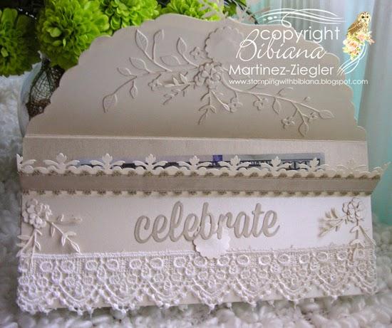 wedding envelope open