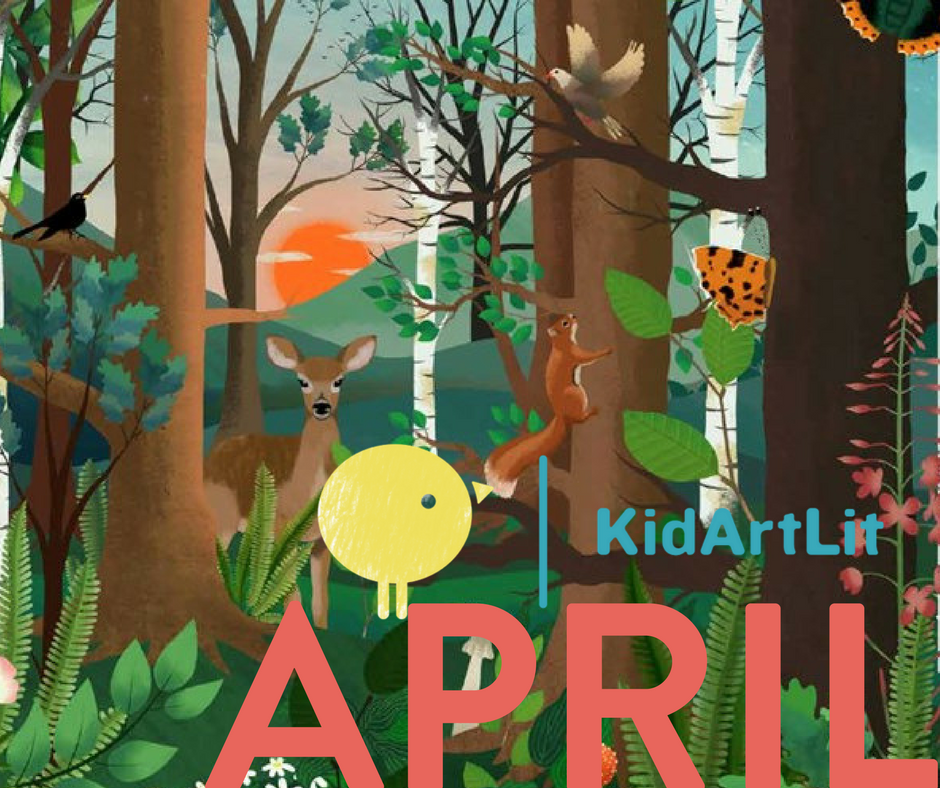KidArtLit- April