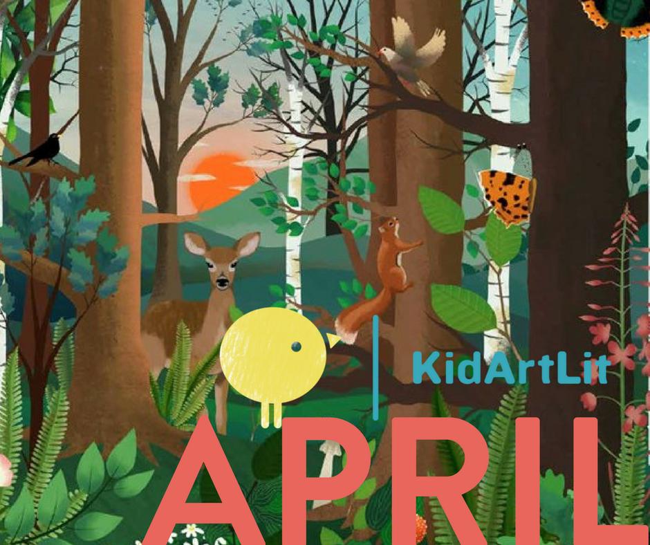 KidArtLit- April