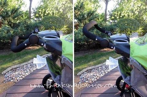 adjustable stroller handle