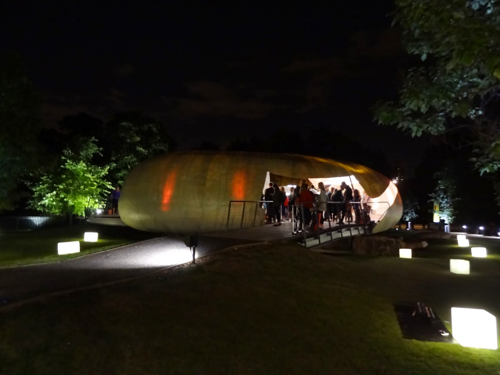 Serpentine Pavilion Hyde Park lululemon Yoga Event Night