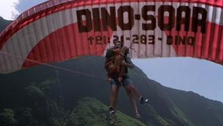Jurassic Park 3 parasailing scene