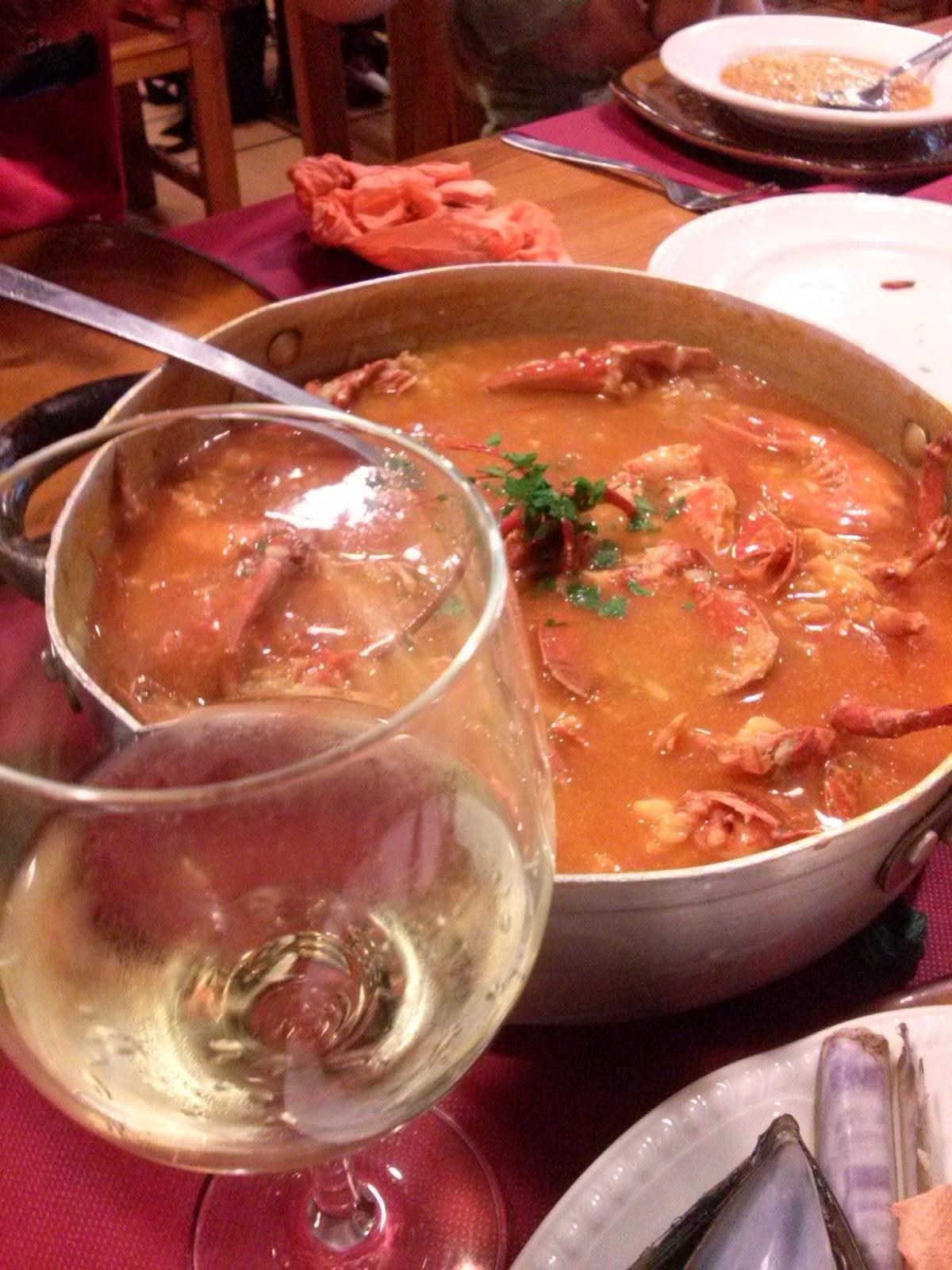 galicia burela comida arroz caldoso
