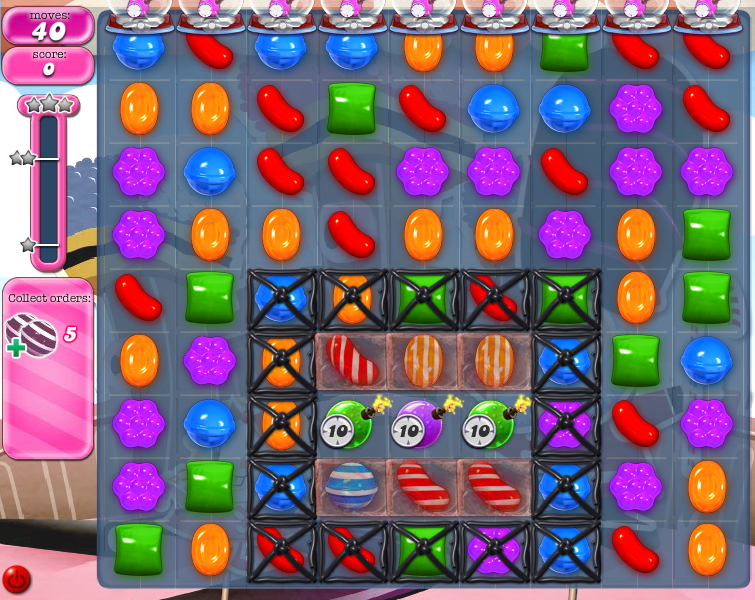 Level 384 | Candy Crush tips level 384