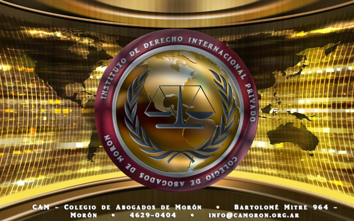 Instituto Derecho Internacional Privado - CAM