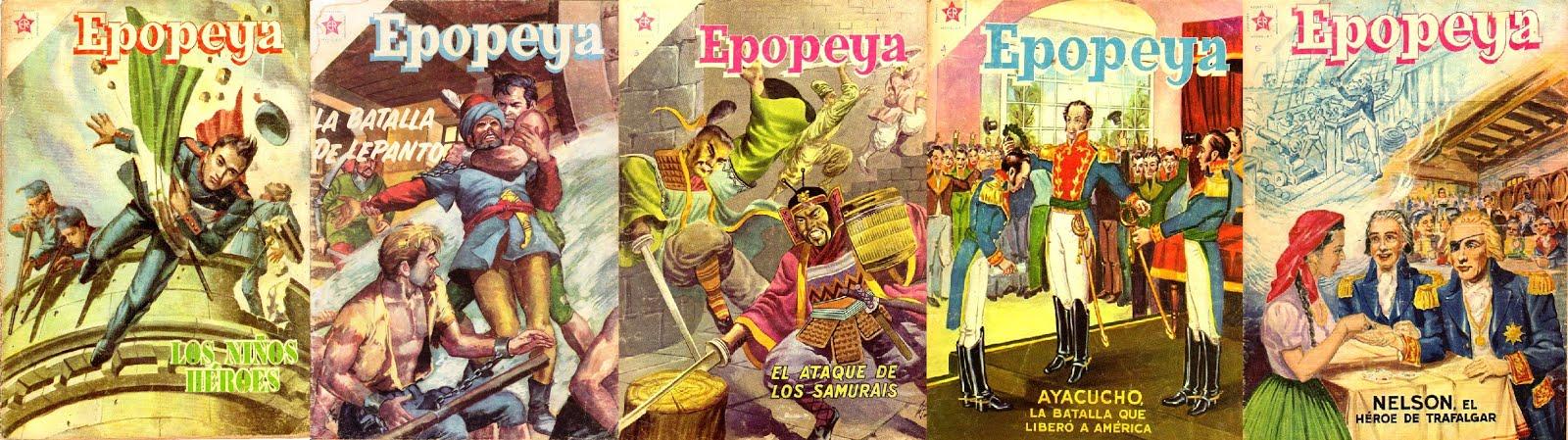 Epopeya Novaro - Colección Completa - 230 Números + especiales + Librocomic