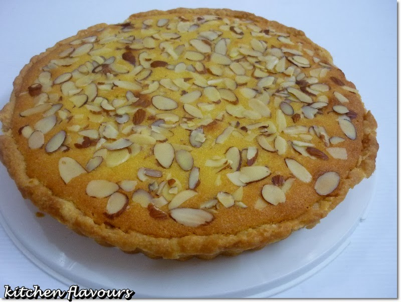 kitchen flavours: Italian Almond Tart : Bake-Along #55