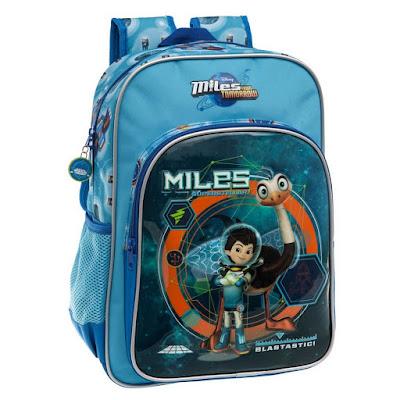 DISNEY Miles del Futuro - Mochila para el colegio  2015 | Serie Television : Miles From Tomorrowland  Comprar en Amazon España