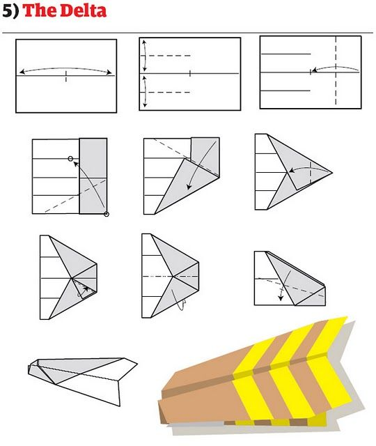 How to Make Cool Paper Planes ~ LikePage How To Make Cool Paper Airplanes