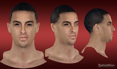 NBA 2K13 Kevin Martin Cyberface Mod