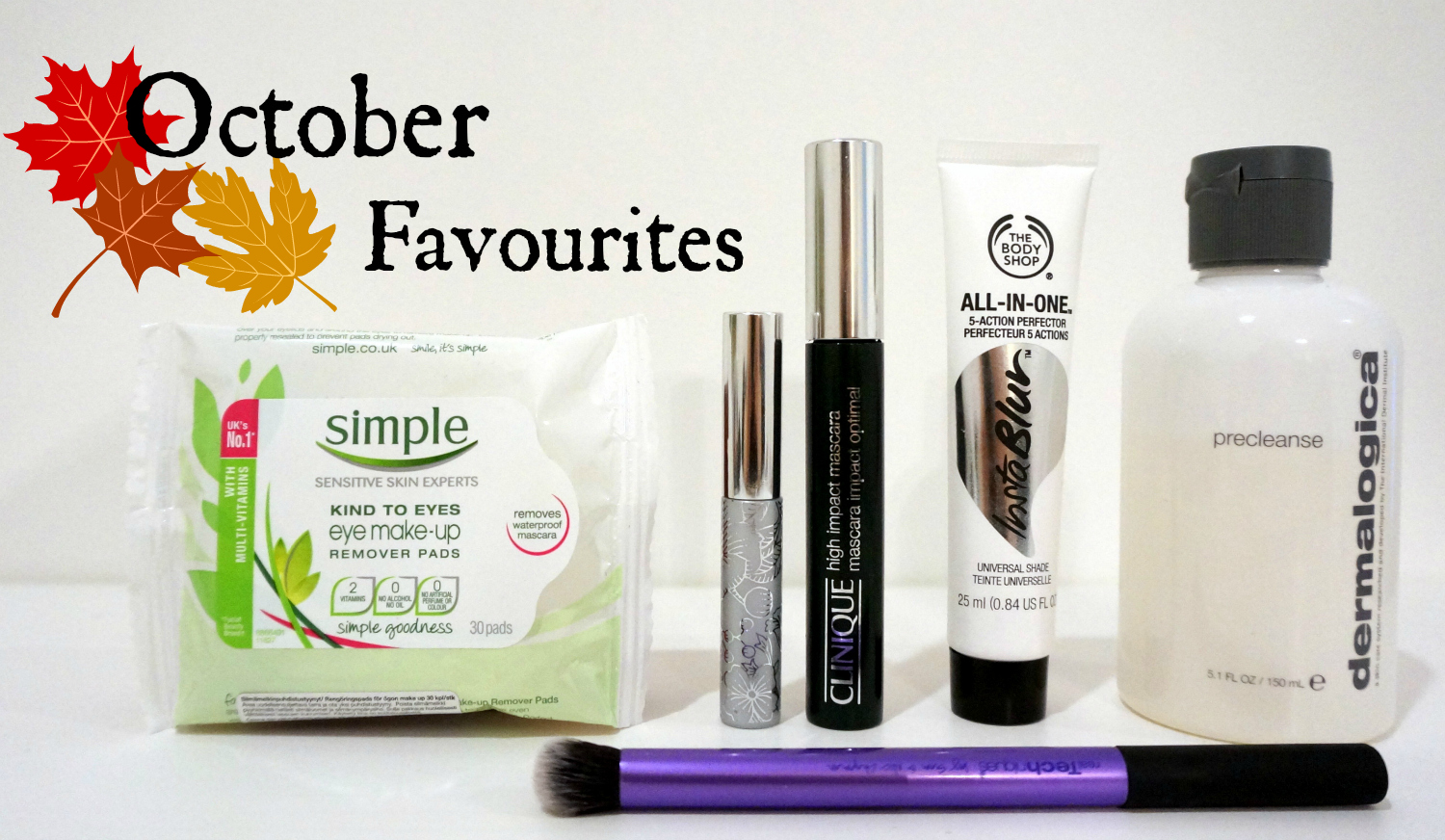 My life as Anu october beauty favourites